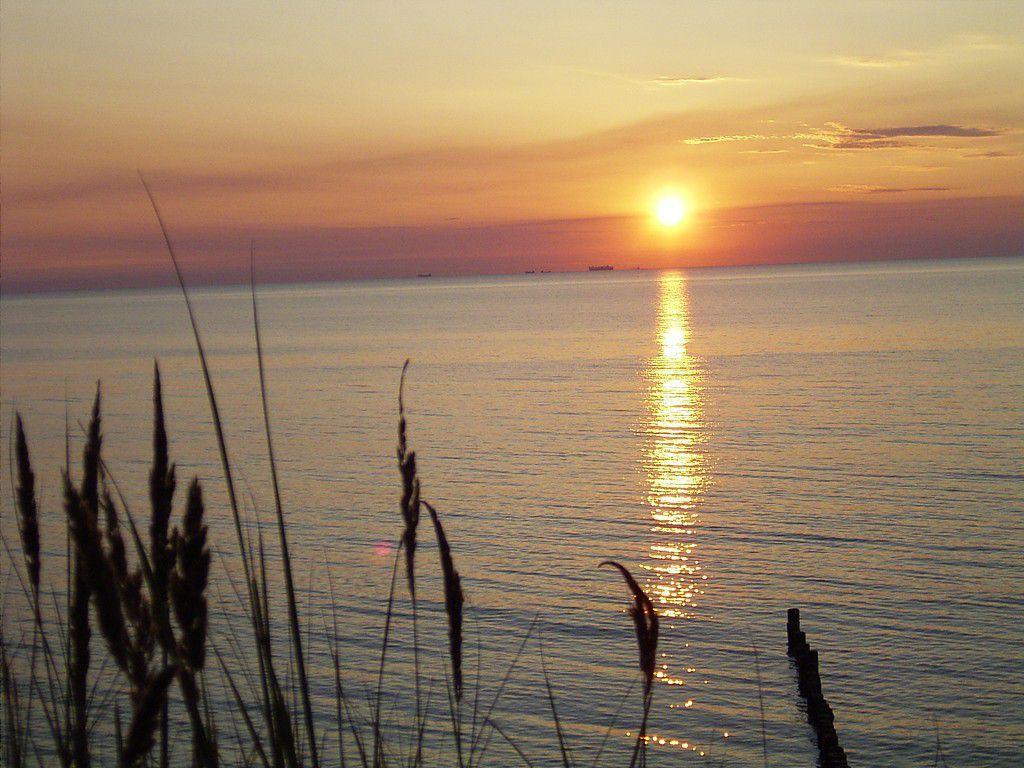 Deutschland Ostsee Sonnenuntergang Sommer 05 die 2..jpg