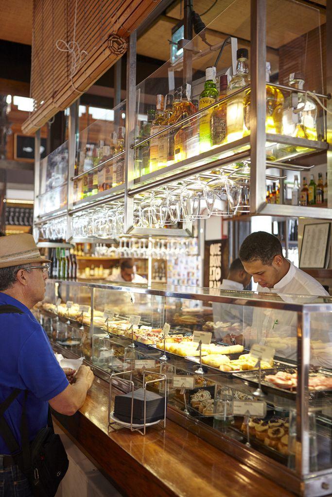 Tapasverkauf im Mercado de San Miguel