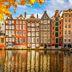 Historische Wohnhäuser in Amsterdam