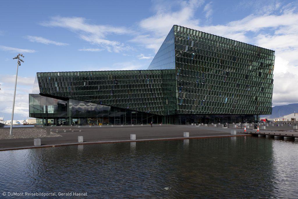 """Island: Reykjavik, """"Harpa"""", Opern- und Konzerthaus"""