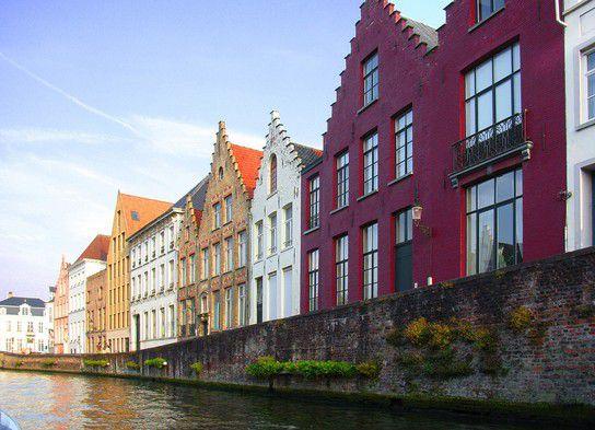 Mittelalterliche Häuser am Spiegelrei