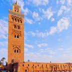 Die beeindruckende Koutoubia-Moschee ist eine der ältesten von Marokko
