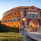 Die Royal Albert Hall am Abend