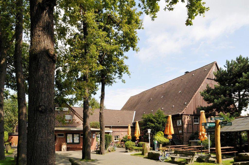 Landgasthaus Klaukenhof in Datteln mit Biergarten
