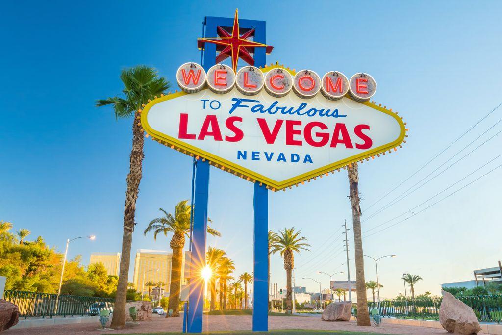 Las Vegas Sehenswürdigkeiten: Das Legas-Vegas-Zeichen