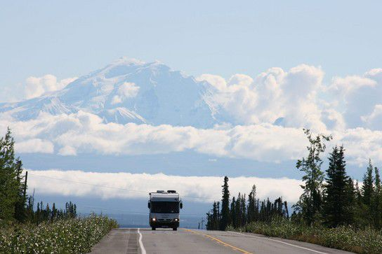 Im Windschatten des Mount McKinley
