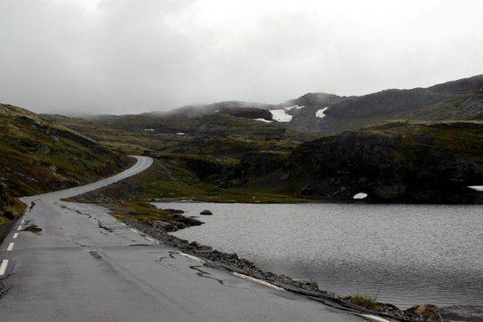 Snøvegen im August