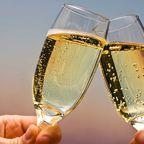 Die Hälfte des weltweit produzierten Champagners wird in Frankreich getrunken