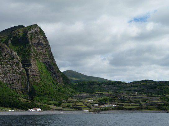 Steilwand, Azoren