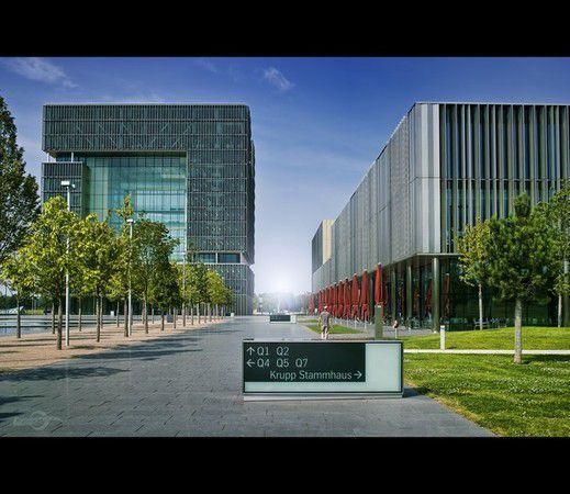 Essen (Ruhr), ThyssenKrupp Hauptquartier