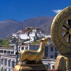 Potala, Palast des Dalai Lamas in Lhasa, Tibet