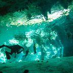 Magische Tauch- und Schwimmgänge in Yucatán