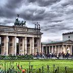 Wolken überm Brandenburgertor