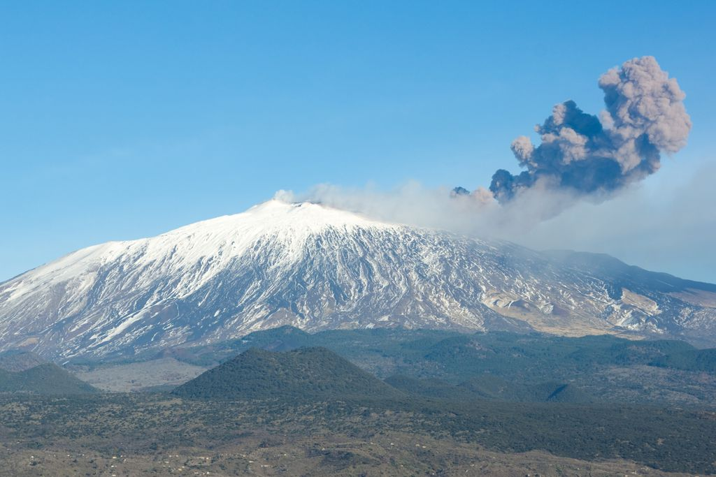 Der Ätna ist der höchste aktive Vulkan Europas