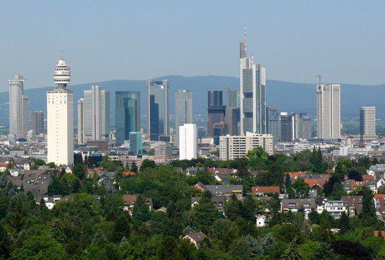 Frankfurts Sky Line