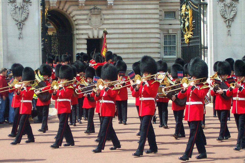 Royal Guards vor dem Buckingham Palace
