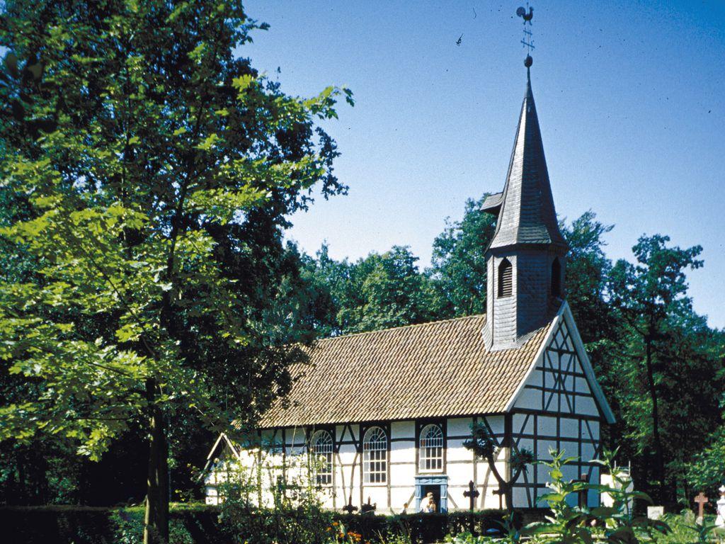 Dorfkirche im Museumsdorf Cloppenburg