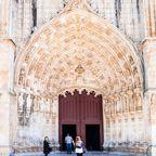 Eingang von Mosteiro da Batalha