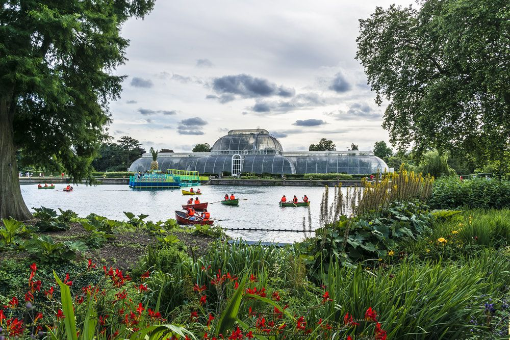 Das Palmenhaus in den Kew Gardens