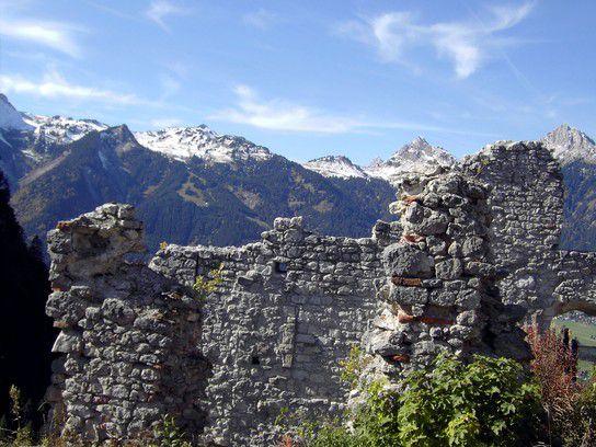 Reutte/Tirol Burg Ehrenberg