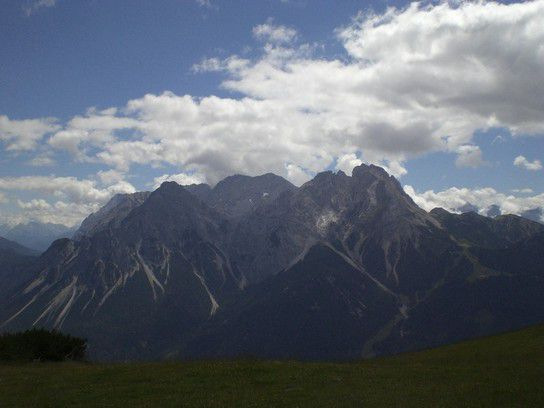 Traumhaftes Bergpanorama in Leermoos