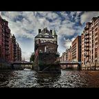 Hamburg, Wasserschloss Speicherstadt