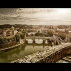 Rom, Blick von der Engelsburg