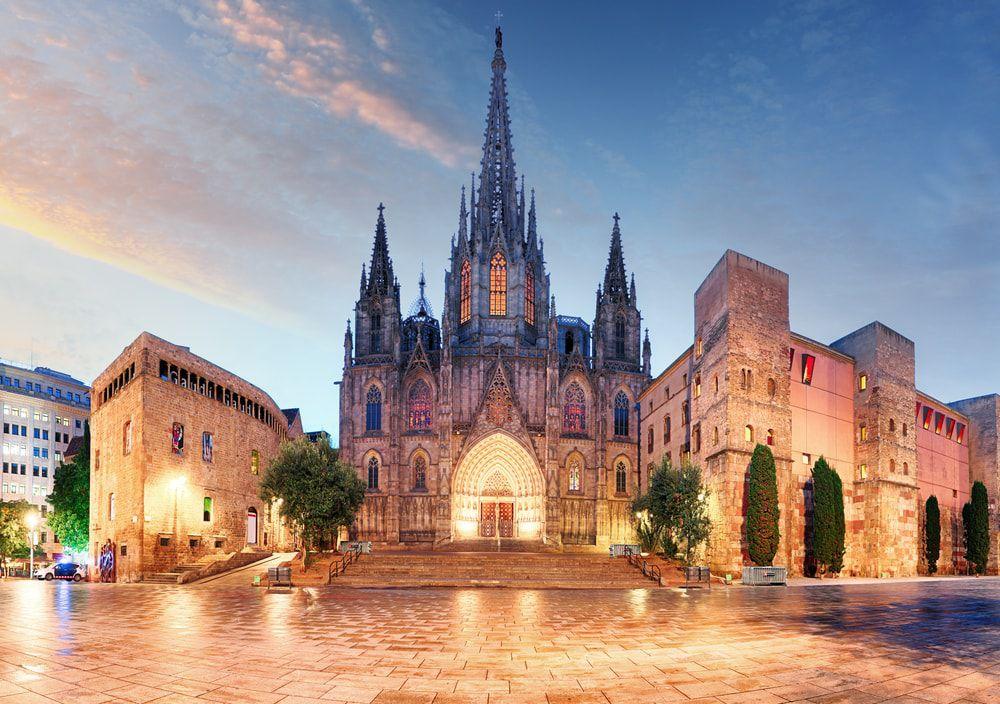 Die Kathedrale von Barcelona