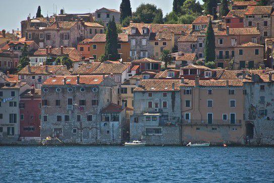 Fischerhäuser in Rovinj