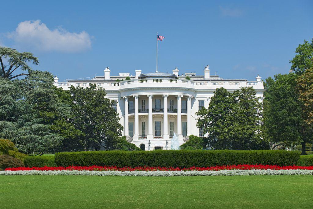 White House - Amtssitz des Präsidenten