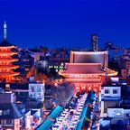 Nach der Sommerschwüle warten in Tokio im Herbst angenehme Temperaturen auf Touristen.