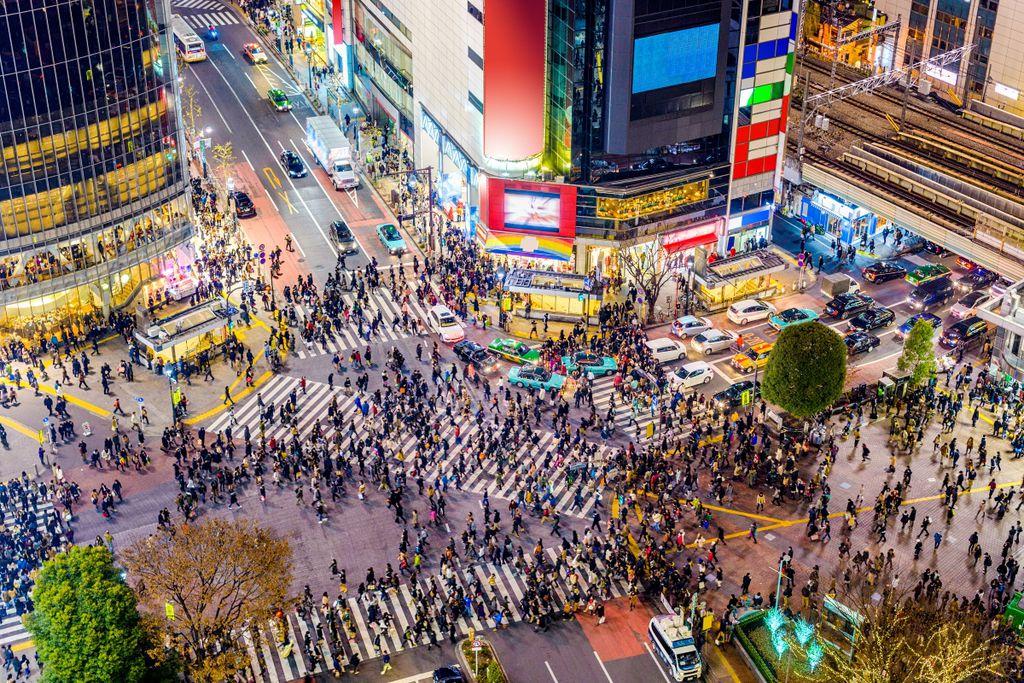 Top 10 Sehenswürdigkeiten in Tokio: Shibuya Kreuzung