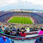 Rundumblick über das Stadion Camp Nou