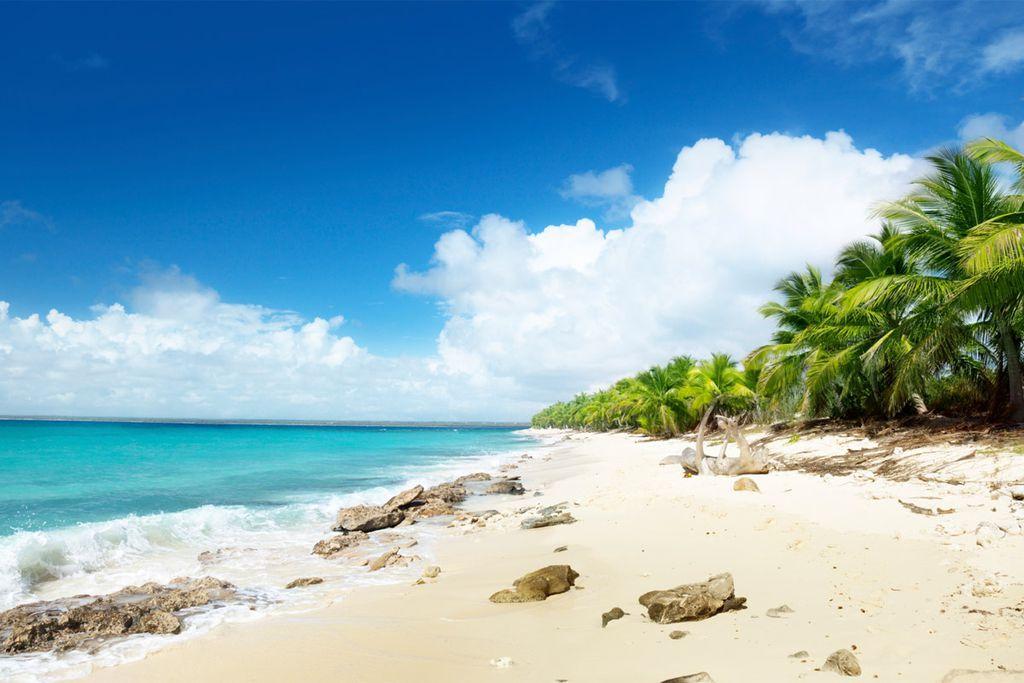 Urlaub im Paradies - die Dominikanische Republik lockt im Juli mit Traumstränden.