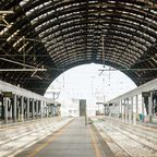 Mailands Hauptbahnhof, der Milano Centrale