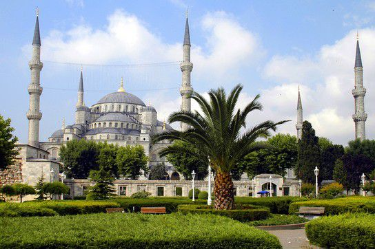Blaue Moschee - Sultan Ahmad Moschee