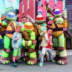 Movie Park: Ein Treffen mit den Turtles