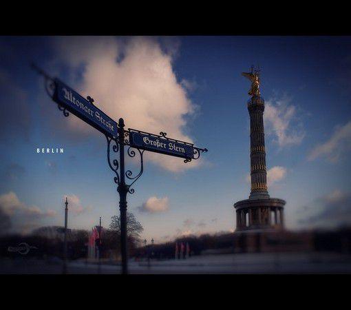 Berlin, Großer Stern mit Siegessäule