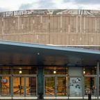 Außenansicht der Liederhalle Stuttgart