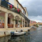 Straßen von Port Grimaud