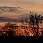 Sonnenuntergang in Deggendorf