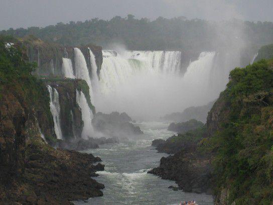 Iguaçu - die größten Wasserfälle der Erde