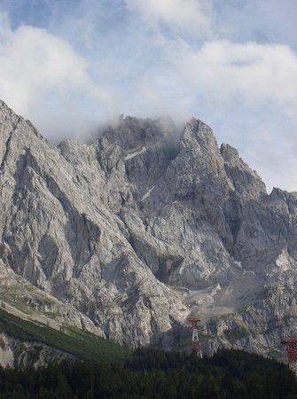 Eibsee mit Blick auf Zugspitze