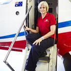 Überfliegerin Barbara White
