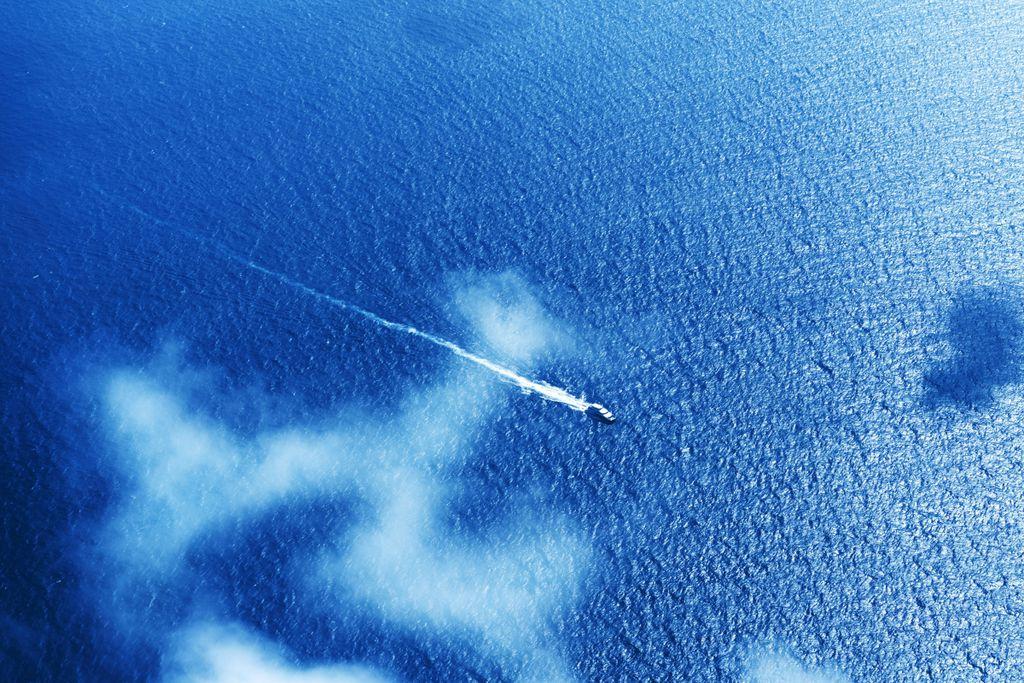 Vorsicht vor Piraten auf hoher See