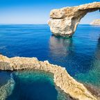 Azure Window, Malta – Daenerys und Drogo