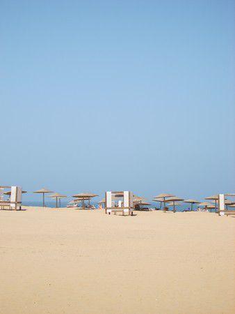 Verlassener Strand