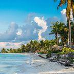 Wunderschöner Strand von Cayo Gulliermo, auf Kuba