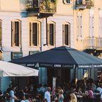 Nachtleben im Navigli-Viertel