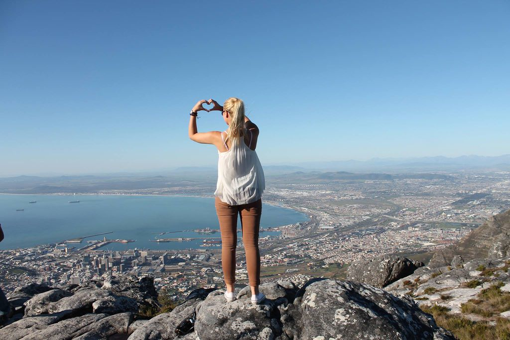 In love with Cape Town